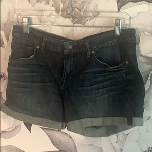 H&M rolled up jean shorts